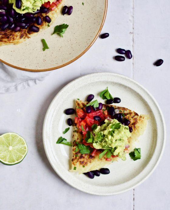 Pommes Rösti med mexicansk inspireret fyld