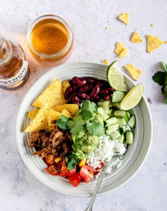 mexi bowl med tortilla chips