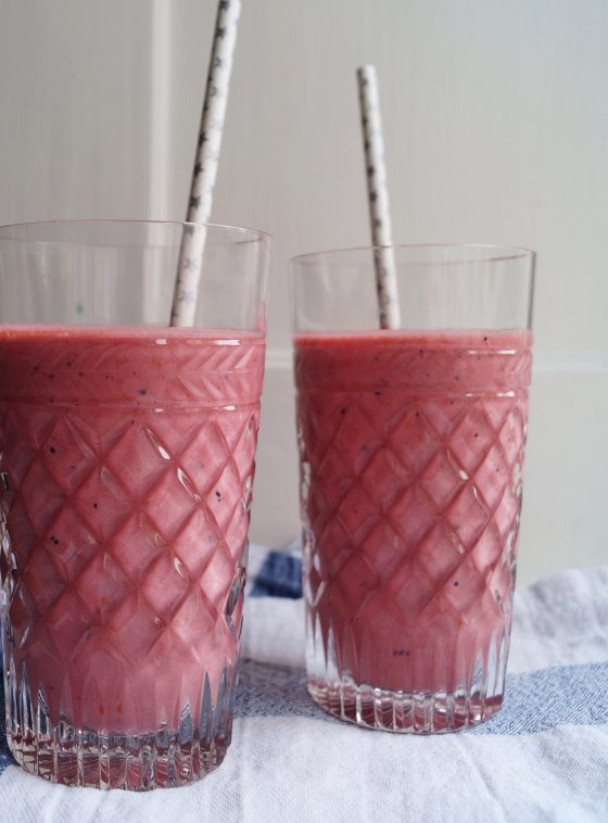 Superfood smoothie med Ingefær og havtorn